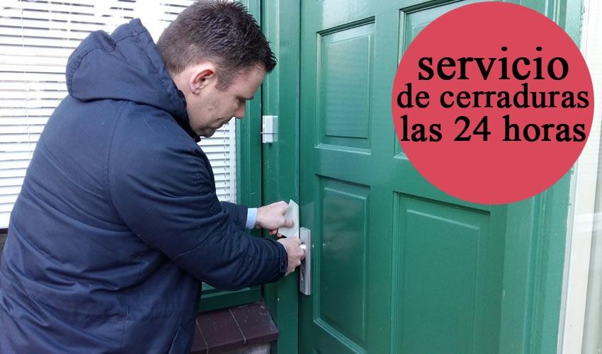 Servicio de cerraduras las 24 horas España